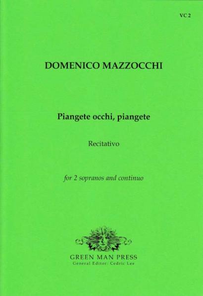Mazocchi, Domenico (1592-1665): Piangete occhi, piangete