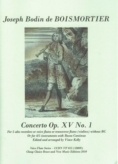 Boismortier, Joseph Bodin: Concerto G-Fur op. 15/1