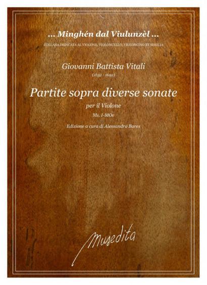 Vitali, Giovanni Battista (1632–1692): Partite sopra diverse sonate