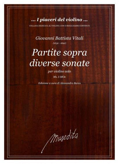 Vitali, Giovanni B. (1632–1692): Partite sopra diverse sonate