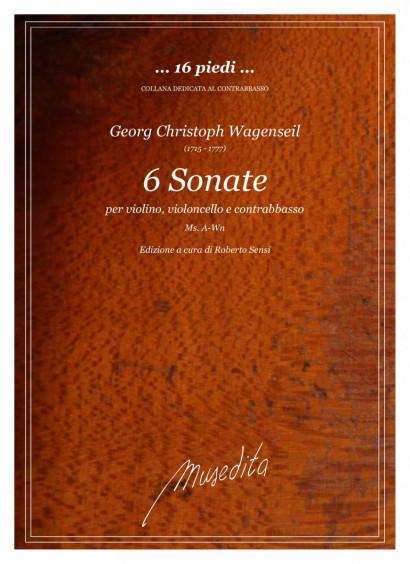 Wagenseil, Georg Christoph (1715 –1777): 6 Sonaten