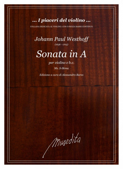Westhoff, Johann P. (1656–1705): Sonata in A