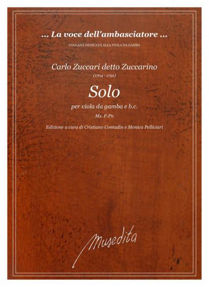 Zuccari (detto Zuccarino), Carlo (1704–1792): Solo