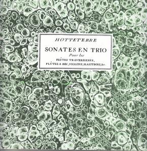 Hotteterre, Jacques (1674–1763): Sonates en Trio