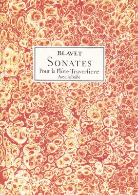 Blavet, Michel (1700–1768):12 Sonates op. 2 & 3