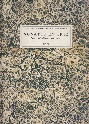 Boismortier, Joseph B. de (1689– 1755): 6 Sonates en Trio op. 7