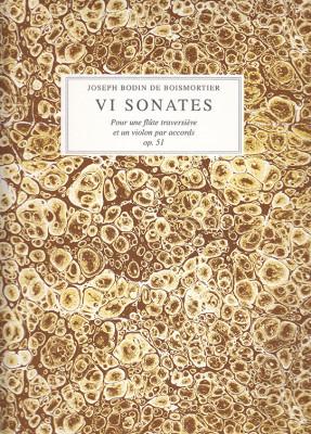 Boismortier, Joseph Bodin de (1689–1755): 6 Sonates op. 51
