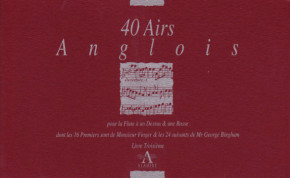 Bickham/Finger/Keller/Paisible/Purcell: 170 Airs Anglois and three Sonatas<br>– Band III