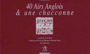 Bickham/Finger/Keller/Paisible/Purcell: 170 Airs Anglois and three Sonatas<br>– Band IV