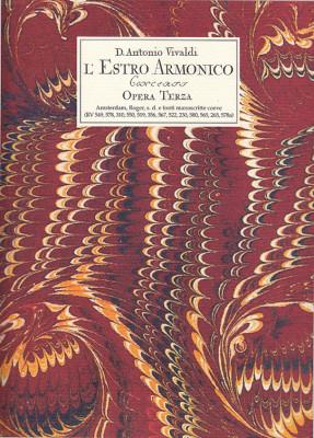 Vivaldi, Antonio (1678–1741):L'Estro armonico 12 Concerti op. 3