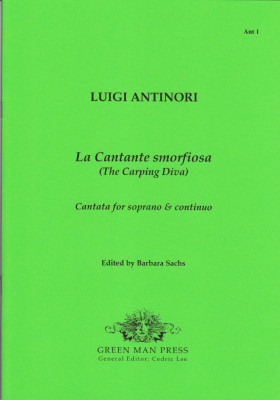 Antinori, Luigi (?1697–?1734): Le Cantante smorfiosa