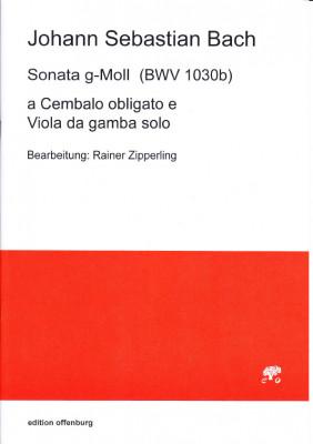 Bach, Johann Sebastian (1685–1750): Sonate g-Moll BWV 1030b