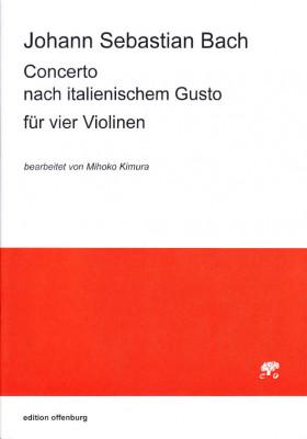 Bach, Johann Sebastian (1685–1750): Concerto BWV 971