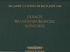 Bach, Johann Sebastian (1685– 1750): Sechs Brandenburgische Konzerte