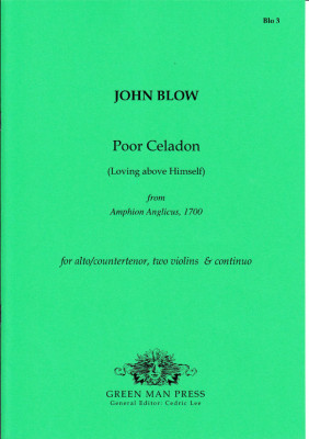 Blow, John (1649-1708): Poor Celadon