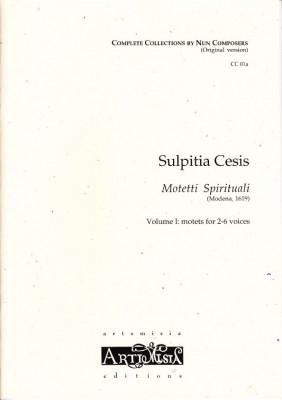 Cesis, Sulpita (1577-?): Motetti Spirituali I - Originalausgabe für gem. Chor