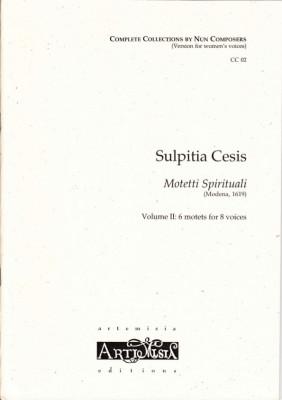 Cesis, Sulpita (1577-?): Motetti Spirituali  II - Convent-version