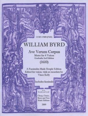 Byrd, William (1543-1623): Ave Verum Corpus