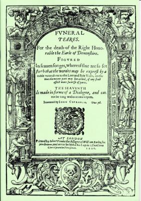 Coprario, John (1543-1623): Funeral Teares