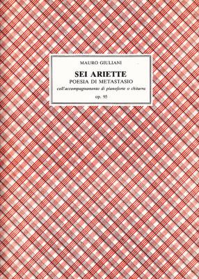 Giuliani, Mauro (1781–1829):Sei Ariette di Metastasio op. 95