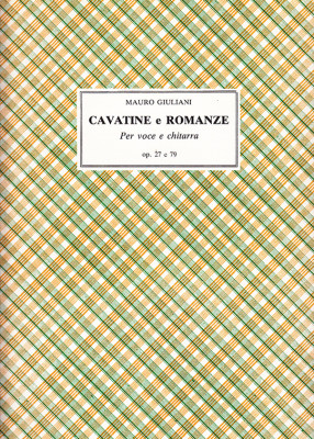 Giuliani, Mauro (1781–1829): Cavatine e Romanze op. 27 e 79