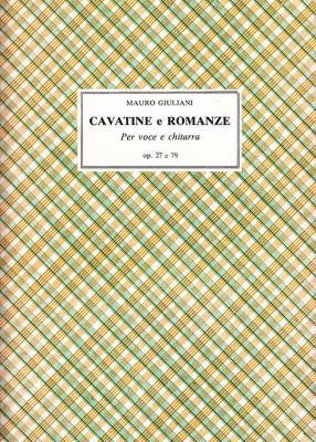 Giuliani, Mauro (1781–1829):Cavatine e Romanze op. 27 e 79
