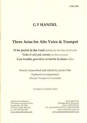 Händel, Georg Friedrich (1685-1759): Drei Arien