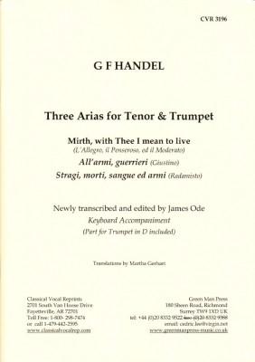 Händel, Georg Friedrich: Drei Arien