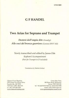 Händel, Georg Friedrich: Zwei Arien