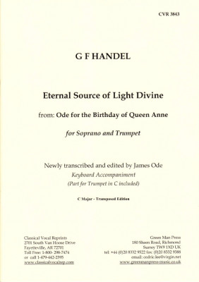 Händel, Georg Friedrich: Eternal Sour Source of Light Divine