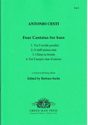 Cesti, Antonio (1623-1669): Vier Kantaten