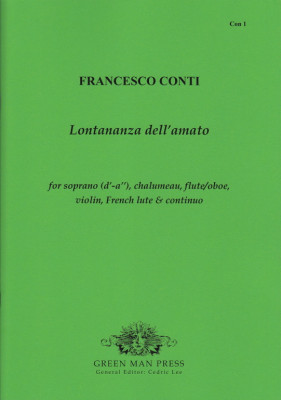 Conti, Francesco (1681/82–1732): Lontananza dell'amato