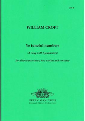 Croft, William (1678-1727): Ye tuneful numbers (1708)