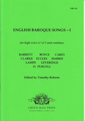 English Baroque Songs – Band 1
