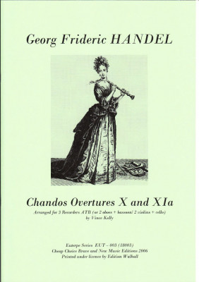 Händel, Georg Friedrich (1685-1759): Chandos Ouverture X & XIa