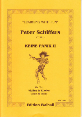 Schiffers, Peter (* 1941): Keine Panik II - Violine & Klavier