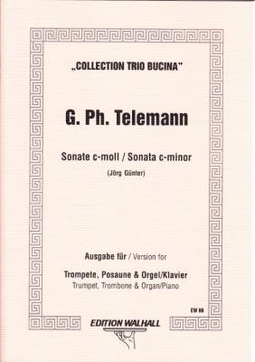Telemann, Georg Philipp (1681- 1767): Sonate c-Moll