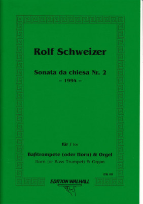 Schweizer, Rolf (*1936): Sonata da Chiesa Nr. 2