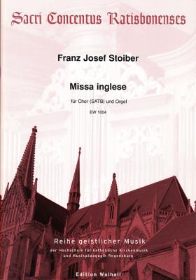 Stoiber, Franz Josef (*1959): Missa inglese – Partitur