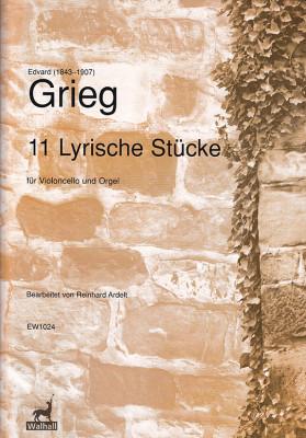 Grieg, Edvard (1843–1907): 11 Lyrische Stücke