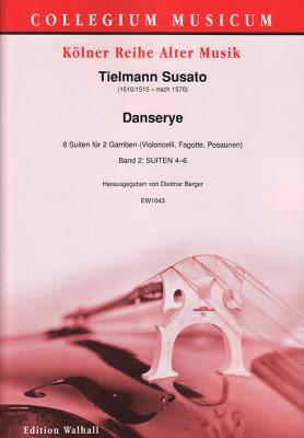 Susato, Tielmann (1510/1515–nach 1570): Danserye – 6 Suiten