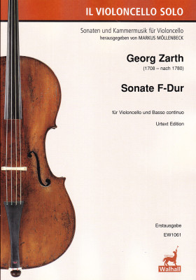 Zarth (Czarth, Scharth), Georg (1708–nach 1780): Sonate F-Dur