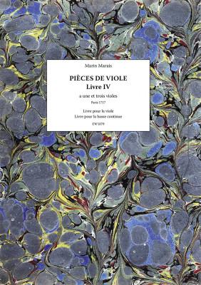 Marais, Marin (1656–1728): Pièces a une et a trois violes – Livre IV