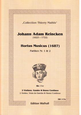 Reincken, Johann Adam (1623-1722): Hortus Musicus - Partiten Nr. 1 und Nr. 2