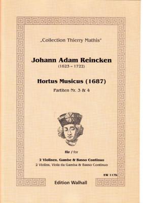 Reincken, Johann Adam (1623-1722): Hortus Musicus - Partiten Nr. 3 und Nr. 4
