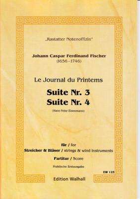 Fischer, Johann Caspar Ferdinand (1656-1746): Journal du Printems - Suiten Nr. 1 - 8 op. 1 - score