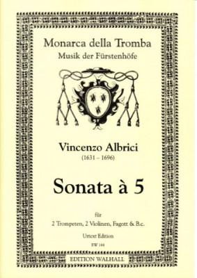 Albrici, Vincenzo (1631-1696): Sonata à 5