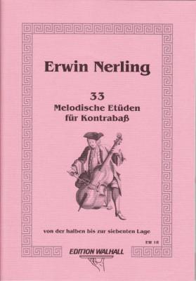 Nerling, Erwin (*1935): Melodische Etüden