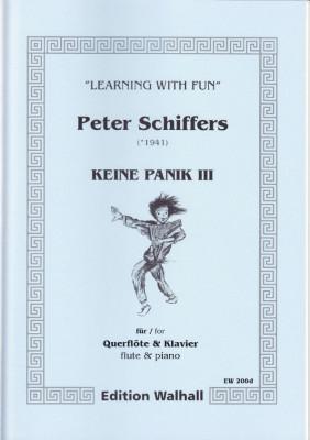 Schiffers, Peter (* 1941): Keine Panik III - Querflöte & Klavier