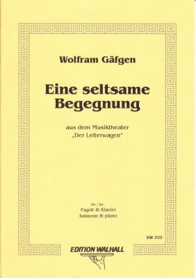 Gäfgen, Wolfram (* 1965): Eine Seltsame Begegnung V